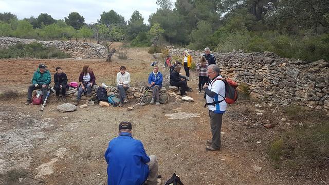 2019-03-31 Santes Creus-Cabanes de pedra seca-Santes Creus (Calçotada)