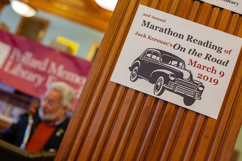 2019 Kerouac Marathon Reading of On The Road