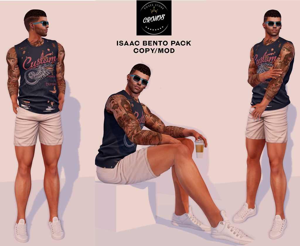 Isaac Pose Pack
