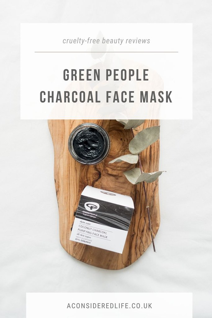 A Review Of The Green People Coconut Charcoal Purifying Face Mask [AD]