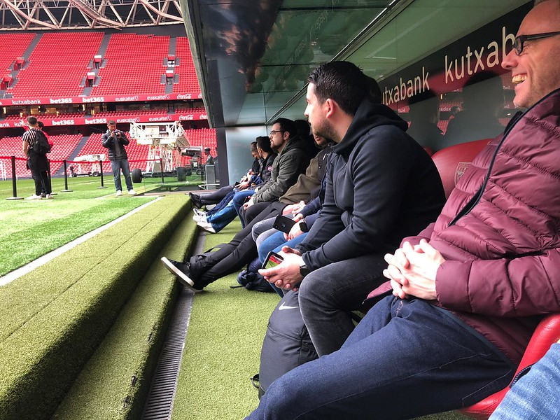Day 3 | The Coaches experience a guided tour of the San Mamés Stadium 7