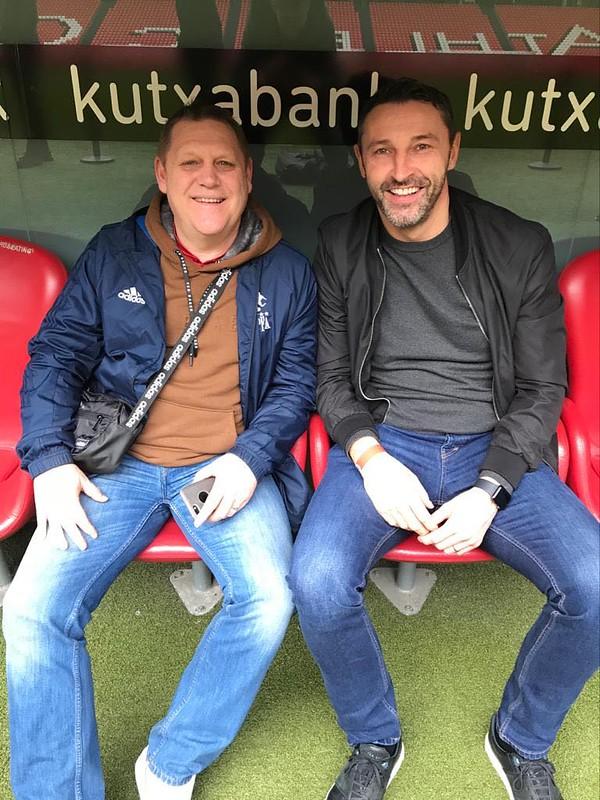 Day 3 | Iain Sankey & Steve Torpey at the San Mamés Stadium