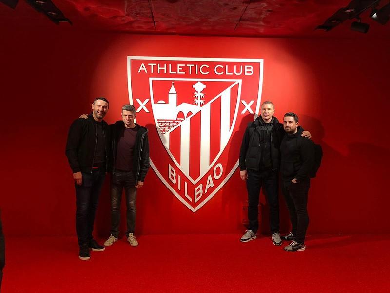 Day 3 | Steve Torpey, Neil Wainwright, Jason Pearcey & Kyle Kirby at the San Mamés Stadium