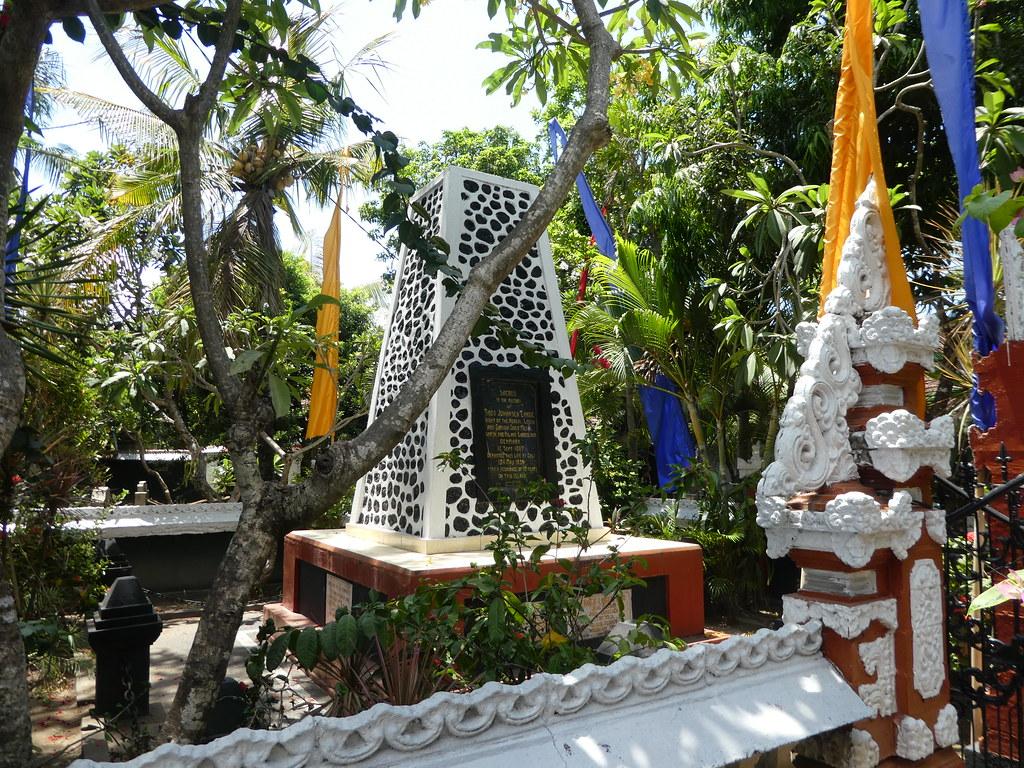 Memorial to a Danish sailor, Bali