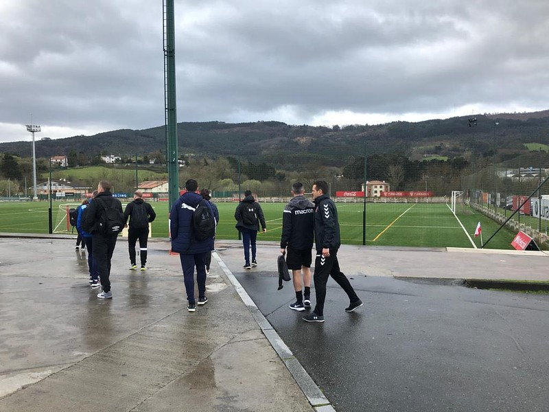 Day 1 | Coaches at Athletic Bilbao training ground