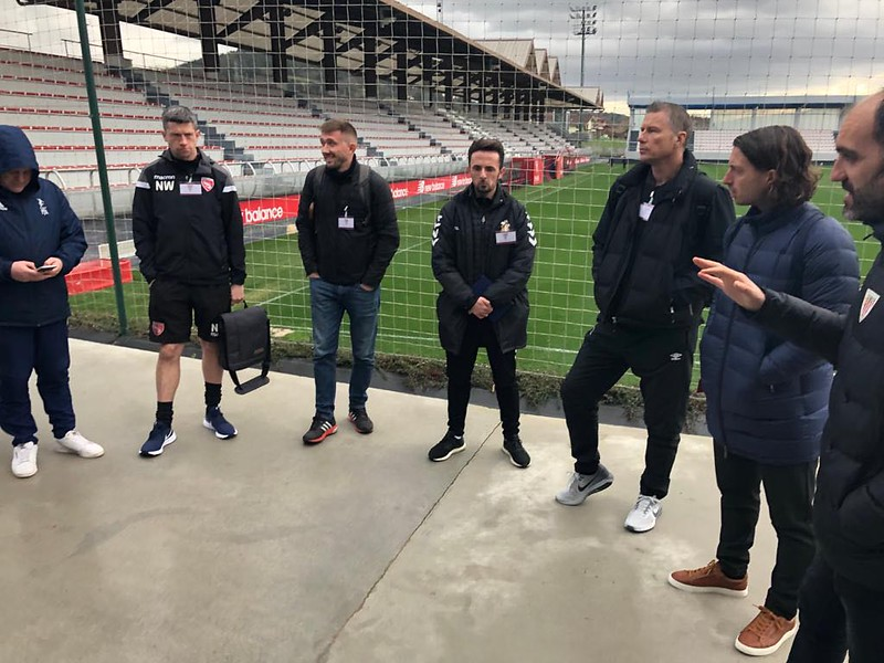Day 1 | Athletic Bilbao Head of Methodology Andoni Bombín welcomes the coaches