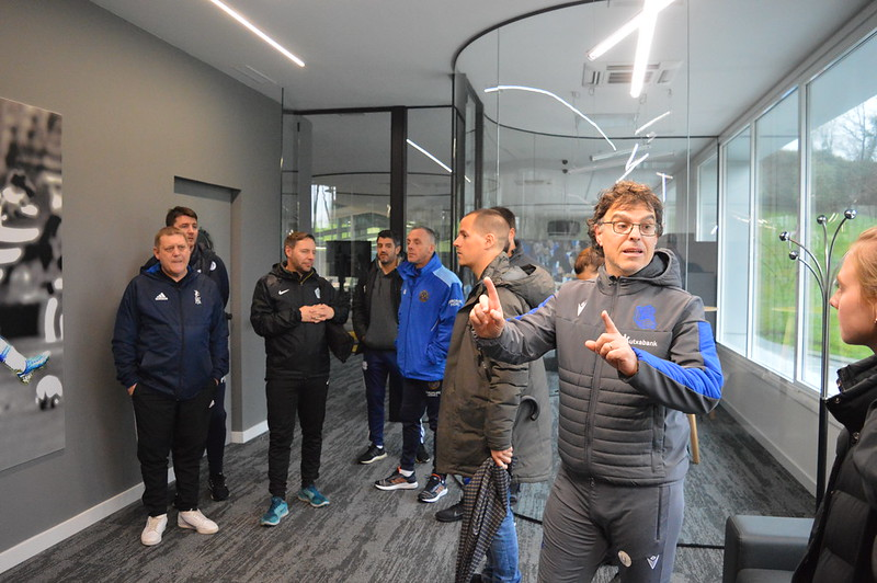Day 4 | Real Sociedad Head of Academy Luki Iriarte welcomes the coaches