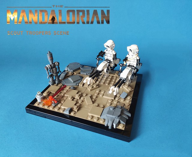 Scout troopers scene The Mandalorian