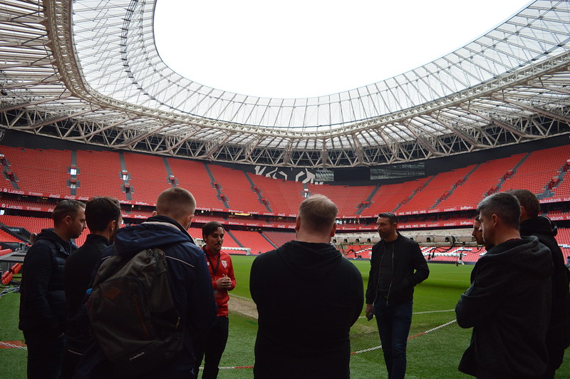 Day 3 | The Coaches experience a guided tour of the San Mamés Stadium 3