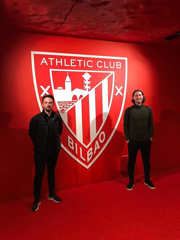 Day 3 | Tom Pell & Stuart English at the San Mamés Stadium