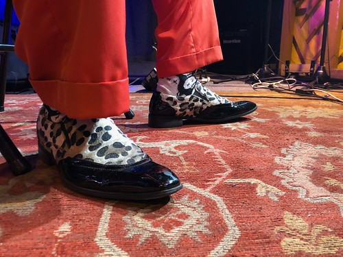 Little Freddie King at WWOZ - March 9, 2020. Photo by Carrie Booher.