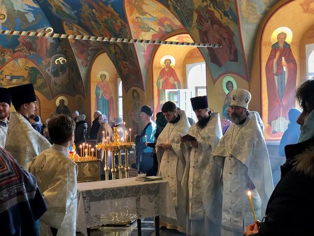 Misa ortodoxa en Irkutsk (Rusia)