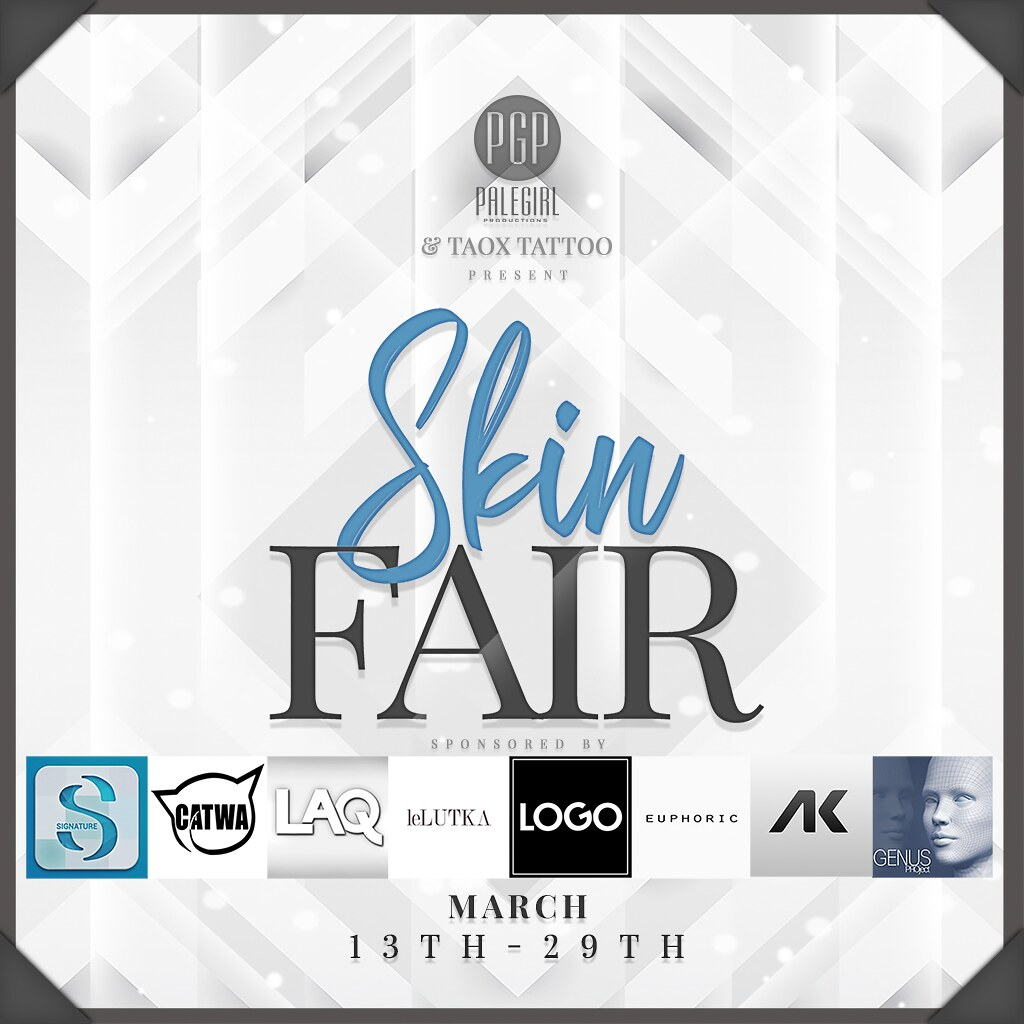 Skin Fair Poster with Sponsors 2020