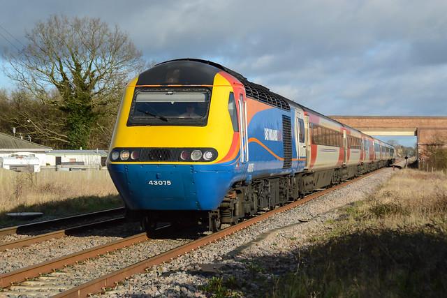 43075 Werrington 07/02/16 - 1A19 0905 Leeds to London Kings Cross