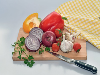 Ingredients for soup