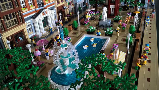 Lego City Park Fountain