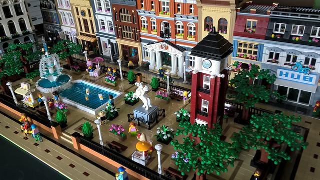 Lego City Park Clock Tower