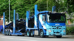 ECM Transporter Mercedes Benz Actros P33 ECM