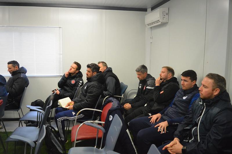 Day 5 | SD Eibar Head Coach José Luis Mendilibar & Analyst Andoni Azkargorta hold a Q&A session 3