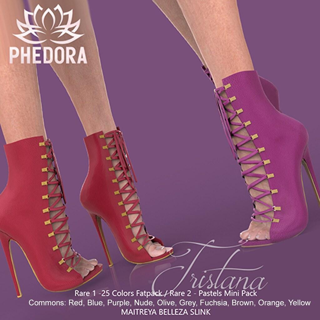 "Phedora for The Arcade Gacha ~ ""Tristana"" ankle boots ♥"