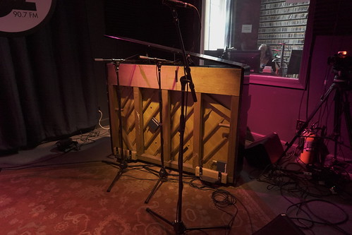 Piano in the studio - March 10, 2020. Photo by Leona Strassberg Steiner.
