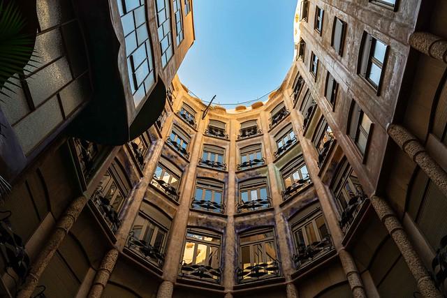 2019-11 02 Casa Milà, (La Pedrera), Barcelona, Spain.