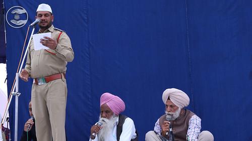Jugraj Raju Ji presented Punjabi Kavita, Barnala PB