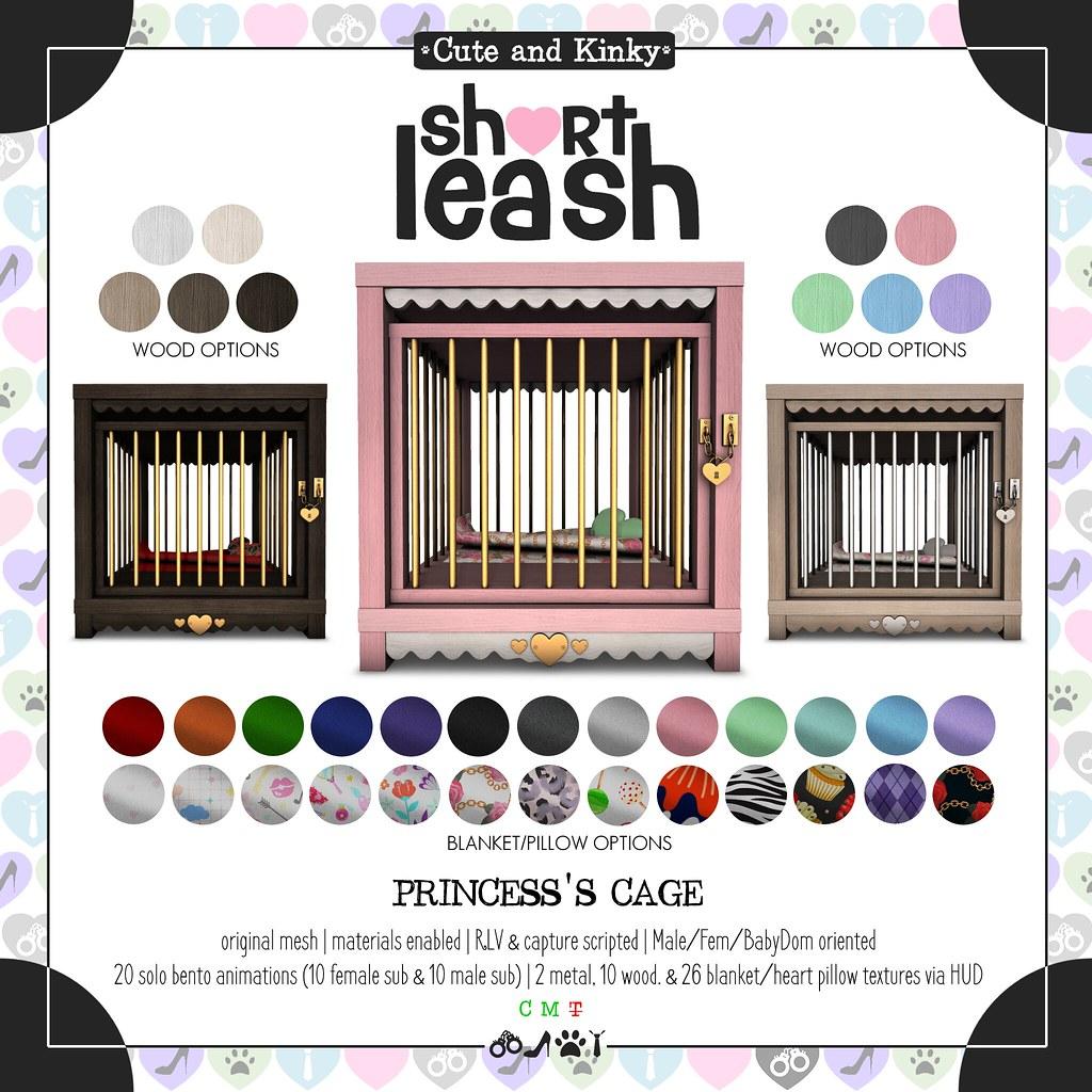 .:Short Leash:. Princess's Cage