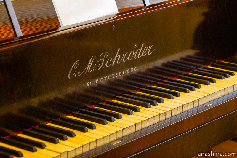 """Тафель-клавир C.M.Schroder (К.Шрёдер), музей-усадьба """"Семья роялей"""" Владимира Виноградова"""