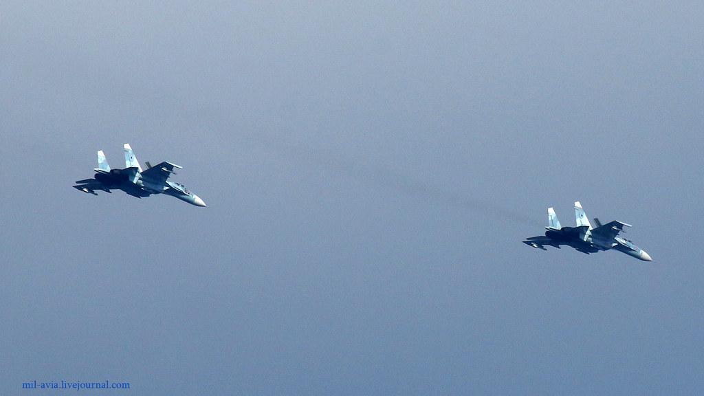 Su-27P pair