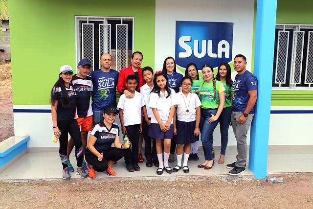 La Fundación Kafie y SULA construyen comedor infantil en la  Escuela José Pineda Gómez