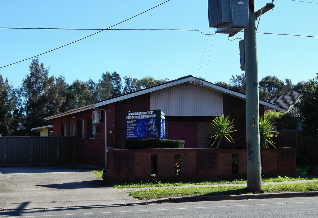 International Missionary Society Seventh-Day Adventist Reform Church, Toongabbie, Sydney, NSW.