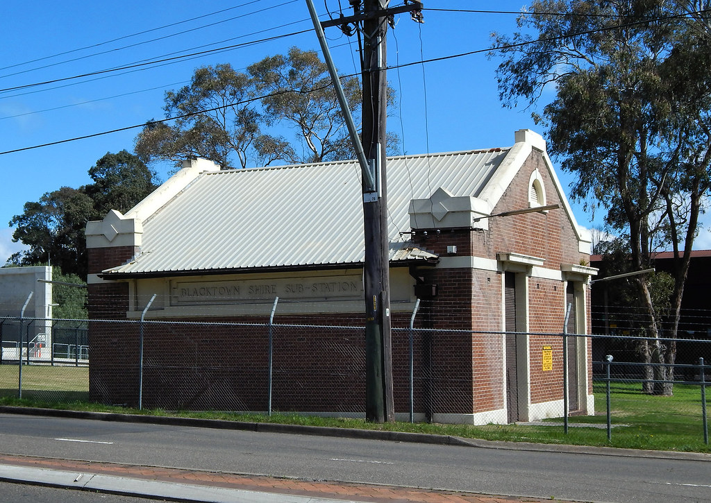 Prospect Electricty Sub Station, Blacktown Rd, Prospect, Sydney, NSW.