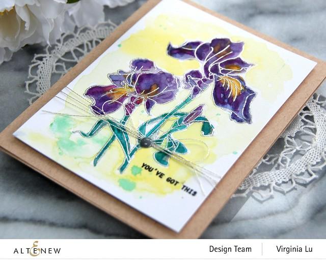 Altenew-Paint-A-Flower-Iris-Virginia#3