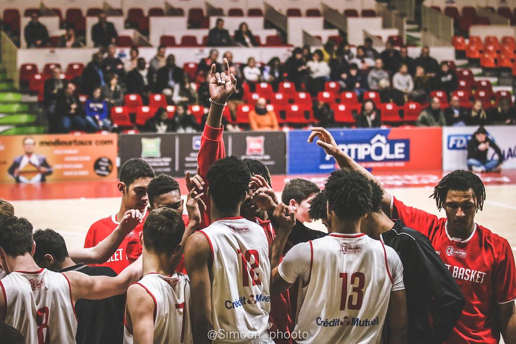 L'effectif Espoir du Cholet Basket (photo : Simoon_phooto)