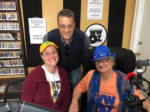 Ashli Richard Morris, TR Johnson, Bonnie Cochran - March 10, 2020. Photo by Carrie Booher.