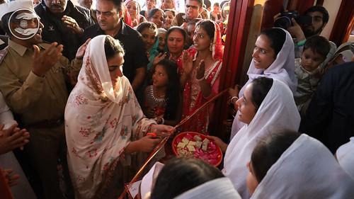 Satguru Mata Ji inaugurated Bhawan