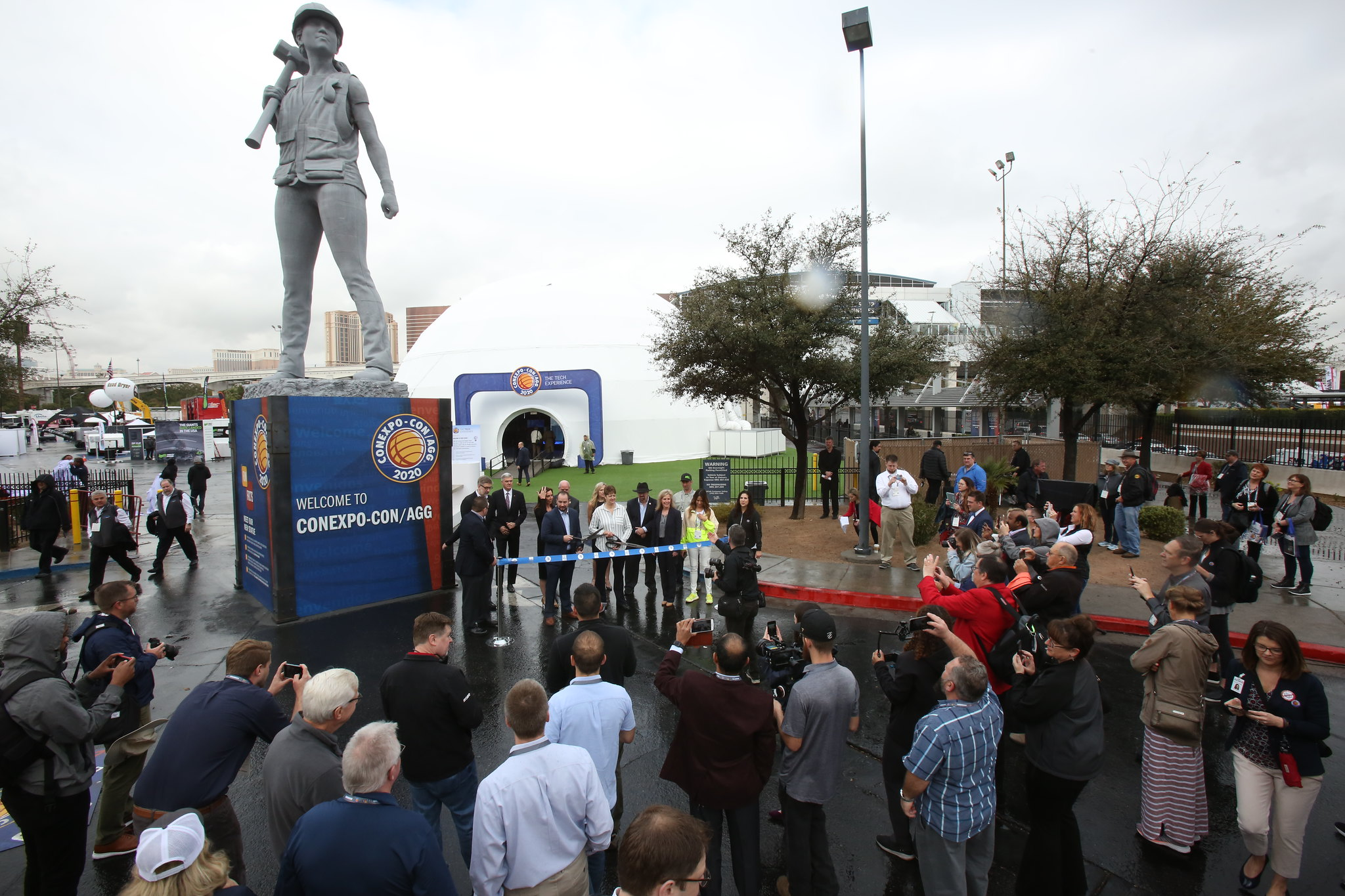 Ribbon cutting ceremony | con expo 2020 tickets | conexpo 2020: con/agg largest construction trade show