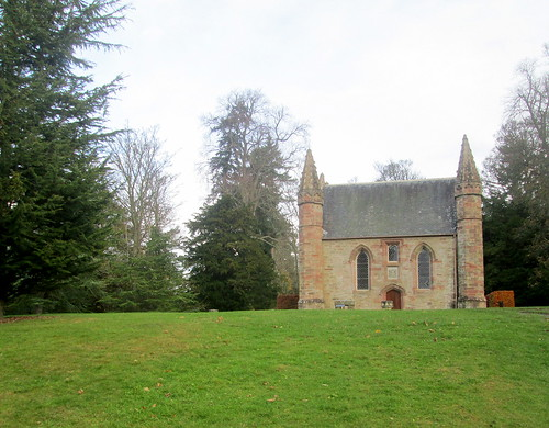 Chapel and Stone of Destiny, Moot Hill, Scone Palace