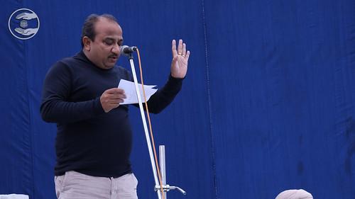 Sanjay Lehri Ji presented Punjabi Kavita, Dhuri PB