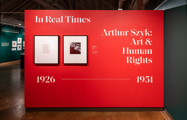 In Real Times. Arthur Szyk: Art & Human Rights (1926-1951) | Exhibition Installation 2020