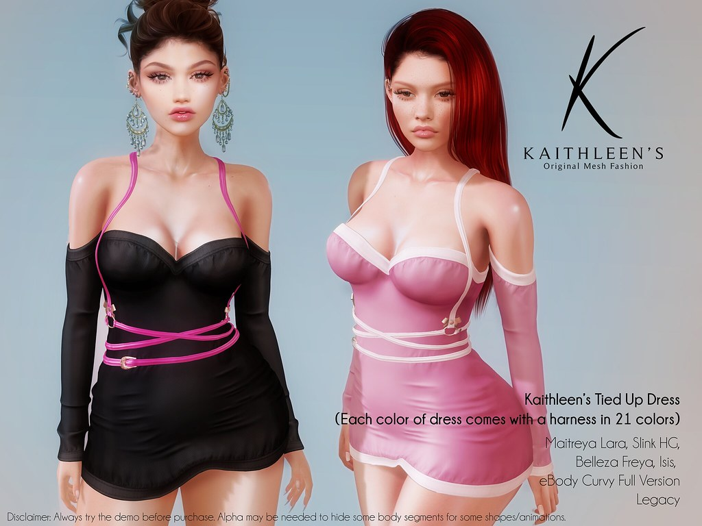Kaithleen's Tied Up Dress Poster web