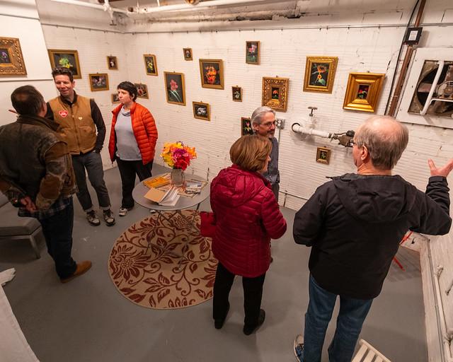 Boiler Room Gallery