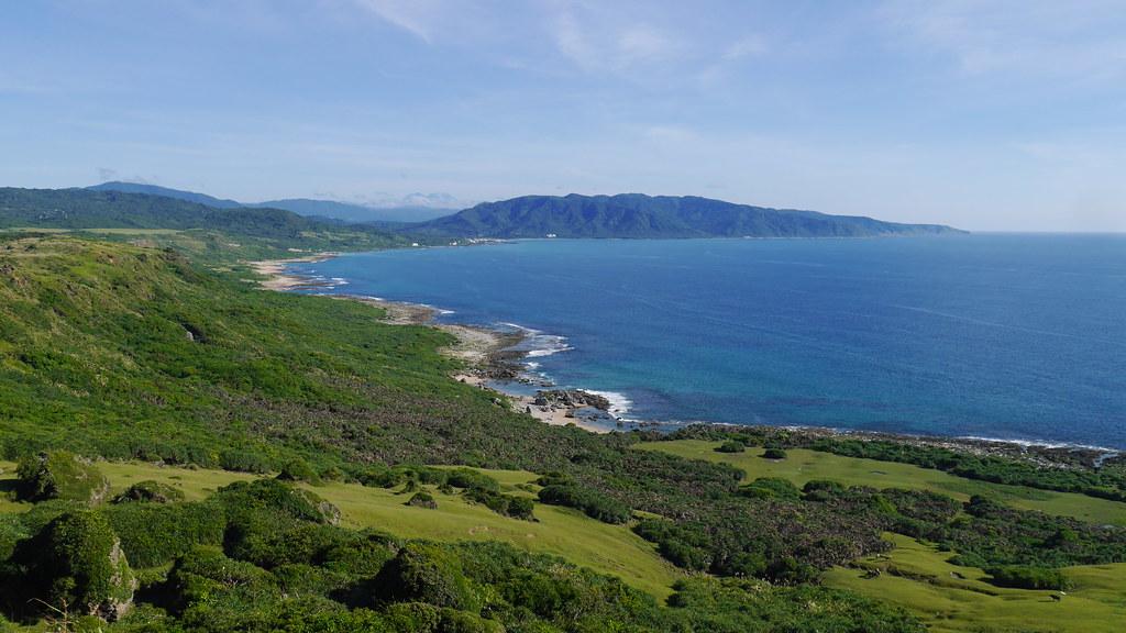 圖3:墾丁國家公園的崩崖地形及裙礁珊瑚礁海岸