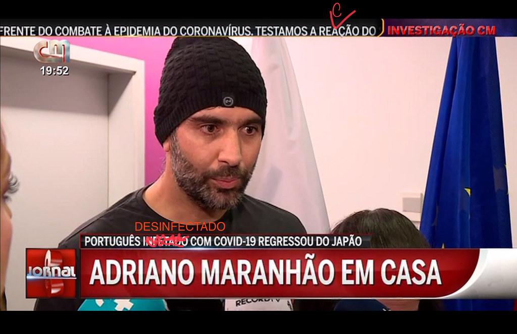 Covidezanove, Portugal (TV do Correio da Manhã, 10/III/2020)