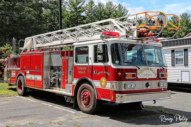 Turner Falls Massachusetts Ladder Rescue