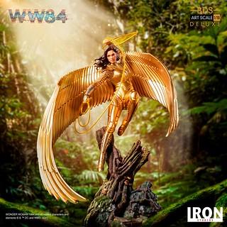 黃金黛安娜參戰! Iron Studios《神力女超人1984》神力女超人 Wonder Woman Deluxe 1/10 比例全身雕像