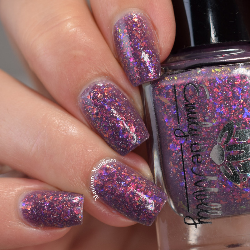 Emily De Molly Consider The Source swatch