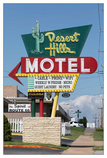 Desert Hills Motel - Rt66 - Tulsa, Oklahoma