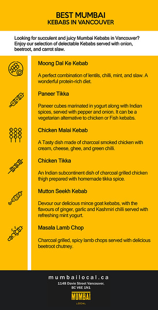 Best Mumbai Kebabs in Vancouver